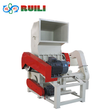 waste pp pe film woven bags plastic recycle crushing machine