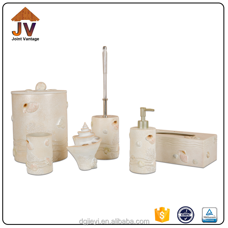 Supply Modern 6pcs Bathroom Set bathroom accessories in dubai