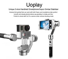 Unique Uoplay 3 Axis brushless Handheld Gimbal Stabilizer- feiyu SPG and zhiuyun Z1 for iphone 7