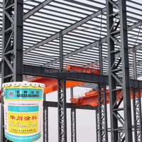 High quality water and corrosion resistance high chlorinated polyethylene anticorrosive coating for steel