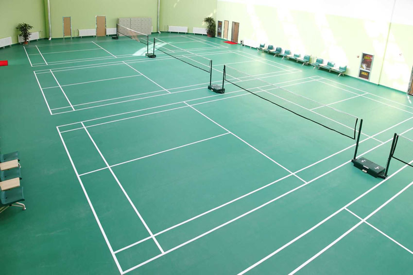 Plastic Flooring Usage pvc carpet , Comfortable and durable High Quality indoor Badminton Court Sports Flooring