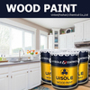 wooden furniture paint for PVC MDF kitchen cabinet