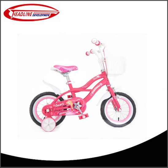 2016 New Hot Selling High Quality Kids Bike / Bicycle With 2 Training Wheel for 3-5 years