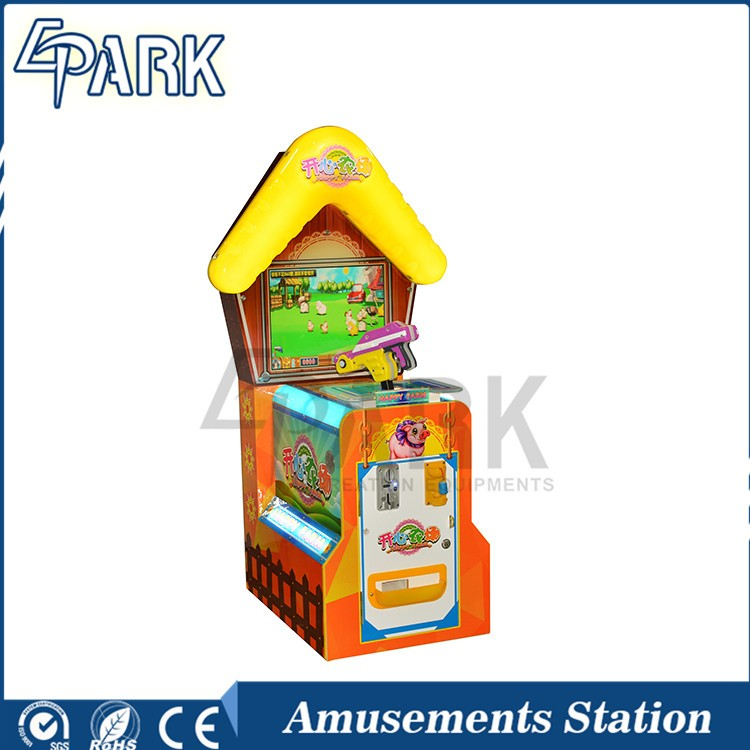 Happy Farm single player shooting electronic redemption kids games