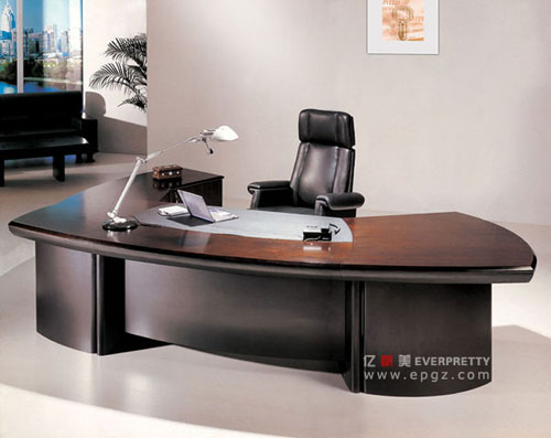 Attractive AT 02 Luxury Boss Office Furniture Office Desk Set