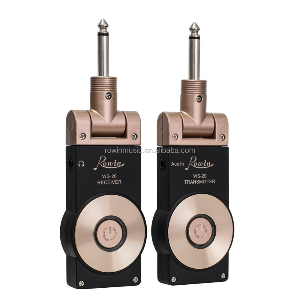WS-20 wireless transmitter and receiver