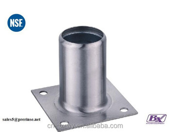 NSF Stainless Steel Leg Socket for 1 1/2'' (38mm) round tube