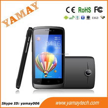 4 inch android 3G smartphone no brand celular with 0.3/2.0MP two cameras
