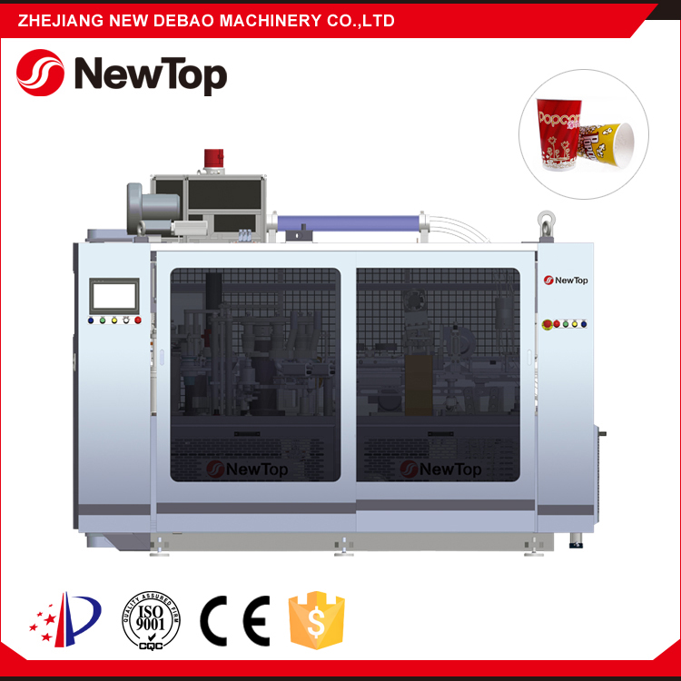 NewTop 2016 Disposable Single PE Coated Jbz A12 Coffee Paper Cup Printing And Forming Machine