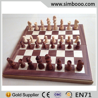 High Quality Wooden Chess Board Game Chess Set