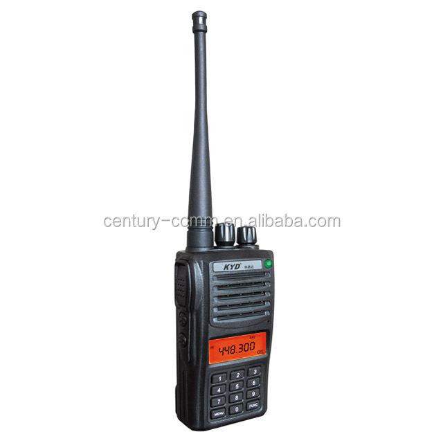 5 Pack Walkie Talkie Two Way Radio 2 Long Range Security Patrol Police Distance