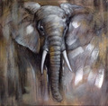 Africa famous animal oil painting