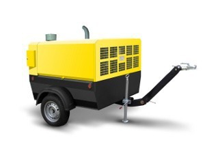 Portable screw compressor stations VVP Series