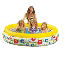 Intex Inflatable Colorful PVC Plastic Swimming Pool for Kids