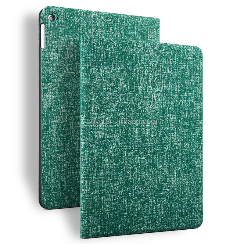 unbreakable Jean texture case pu leather case for ipad air 2