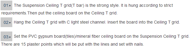 ceiling t-grid/wall angle