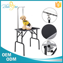 Portable Light Weighted Stainless Steel Dog Grooming Table With Arm