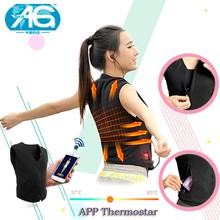 Fashion OEM App Smart Thermostat Waistcoat