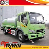 factory sale 4x2 6m3 20m sprinkling cheap 6000 liter water tank truck