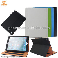 Brand new leather case for ipad Air, for ipad 5 case