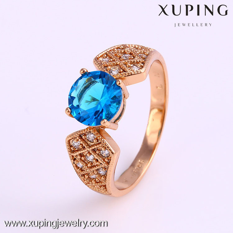 12254 Xuping jewelry 18k gold couples fashion ring