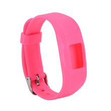 Soft Silicone Replacement Band With Watch Clasp For Garmin Vivofit 3 Fitness Band