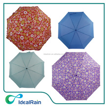 New design 21*8K 3 fold auto open and close fold umbrella