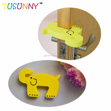 hot selling safety door stop EVA draft silicone children safety no finger pinch foam door stopper