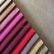 100%polyester woven linen sofa upholstery textile fabric for wholesale