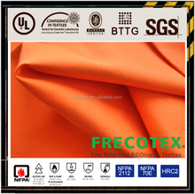 factory wholesale fabric fire resistant anti static for welder worker flame retardant anti-static fabric