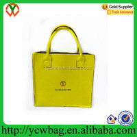 New design felt tote bag fashion lady handbags