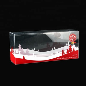 BAILI Transparent PVC, PET, PP Clear Plastic Custom Box For Chocolate, Candy, Cake Food Packaging