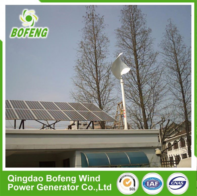 Reasonable price 1kw-10kw wind solar panels hybrid system and wind turbines