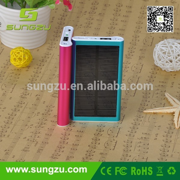Pretty common solar git, solar charger, battery pack solar power for tutorial