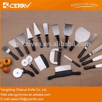 Commercial stainless steel baking spatula tools