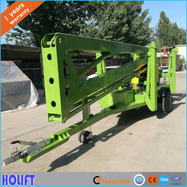 factory hot sales pickup truck boom lift Exported to Worldwide