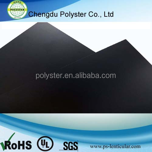 PC black film,solid sheet film, Polycarbonate thin board