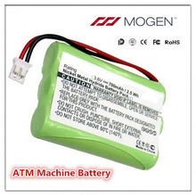 Rechargeable 6V Dc Battery Pack ATM Machine Battery NiMH Replacement Atm Machine Battery