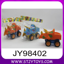 Hot sale baby toys children friction animal cars dinosaur shape toy car