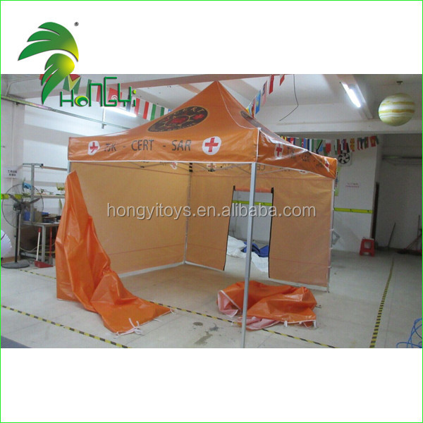 Newest Orange Factory Price Custom Attractive Outdoor Display Trade Show Changeable Floding Tent