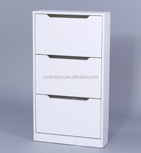 SKY New Design China factory price wooden shoe cabinet/shoe rack in wood