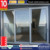 Alufront commercial system double tempered glass window aluminum lift and sliding doors