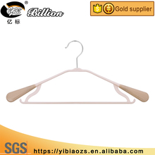 Best Selling candy plastic coat hanger with jeans hanger for dry clothes