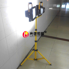 dimmable 100W rechargeable double standing tripod LED flood light CE ROHS approved