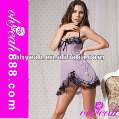 Wholesale latest style pictures of women in nightgowns