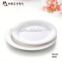 European melamine white cheap dinner electric plate warmer