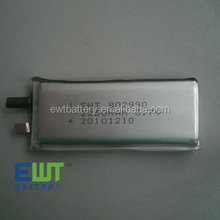 Bestseller 802990 2250mah lithium polymer battery 3.7v lipo battery cell
