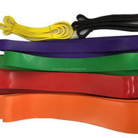Latex Fitness Resistance Band Set Custom