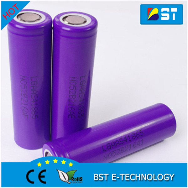 Newest Authentic LG S4 18650 battery Rechargeable li ion battery 18650 3.7v 2200mAh for power bank