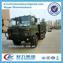 famous dongfeng military 6x6 trucks 190hp for sales